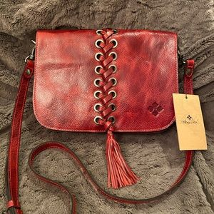 Patricia Nash Red Crossbody Purse - NWT